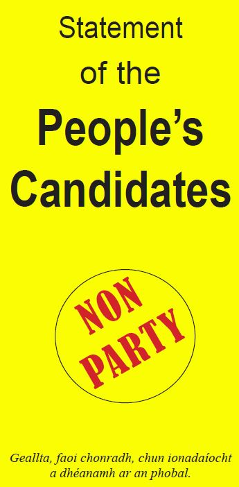 Statement of the People's Candidates